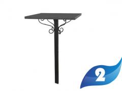 2 Стол железный. Цена 3800 руб.